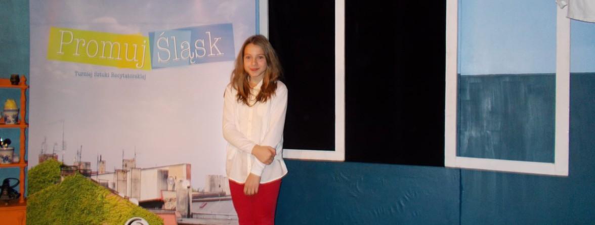Julia w trakcie występu