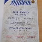 dyplom Julii