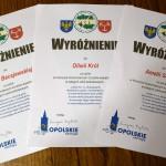 Dyplomy uczestniczek