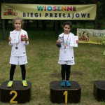 na podium I miejsce –    Paulina Bartosz    kl. II a i II miejsce-    Paulina Buhl II a