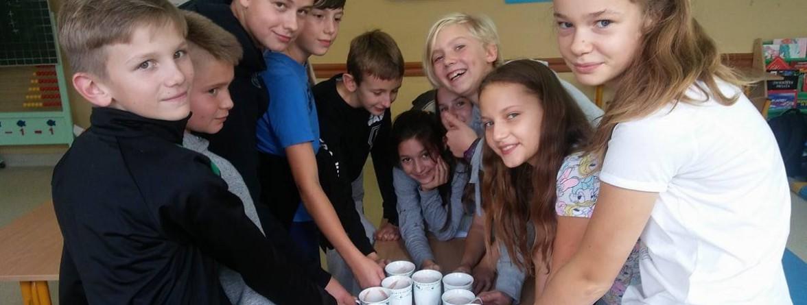 Uczestnicy Dyskusyjnego Klubu Edukacyjnego PSP Łubniany