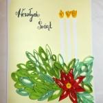 Wyróżniona Kartka Świąteczna wykonana przez Klubowiczki