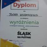 Dyplom Igora Włodarczyka