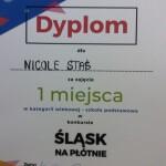 Dyplom Nicole Staś