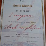 Dyplom Emilia Olejnik OK