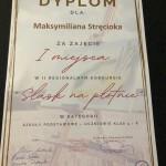 Dyplom Maksymilian Strŕciok OK