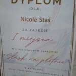 Dyplom Nicole StaOK