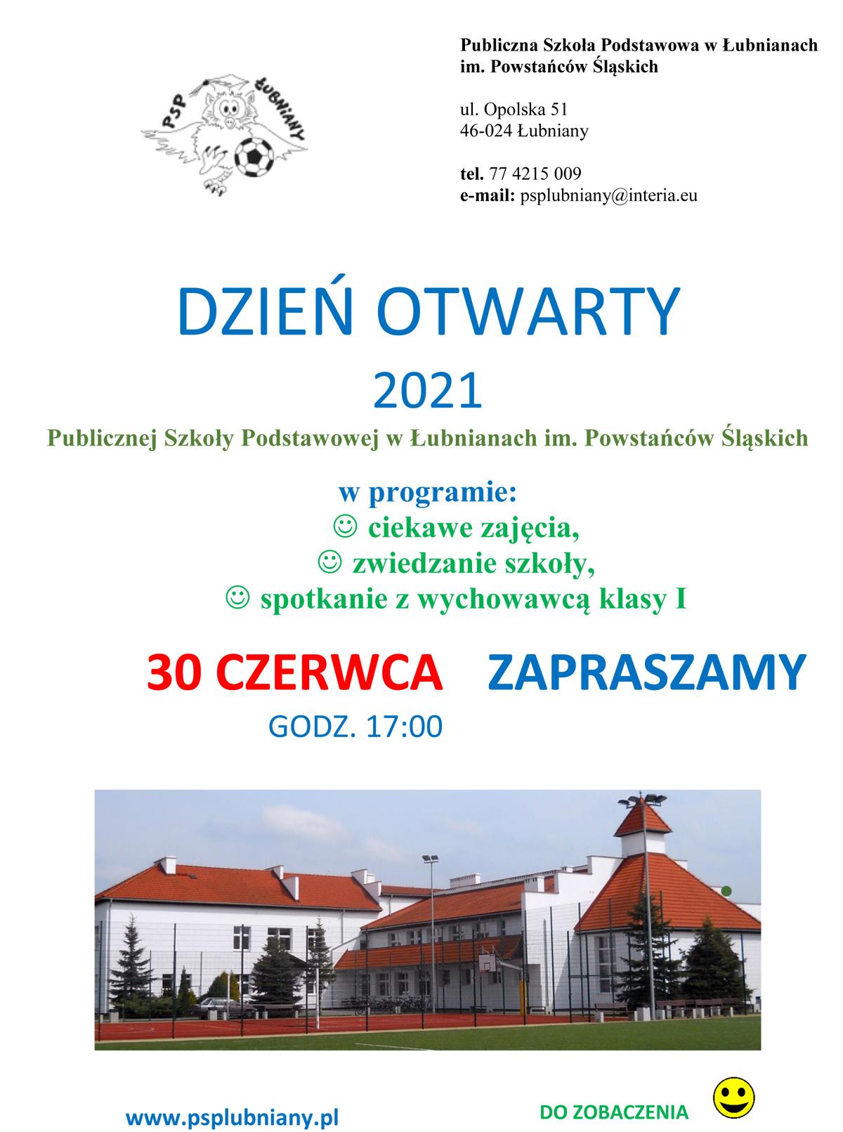dzień otwarty - plakat