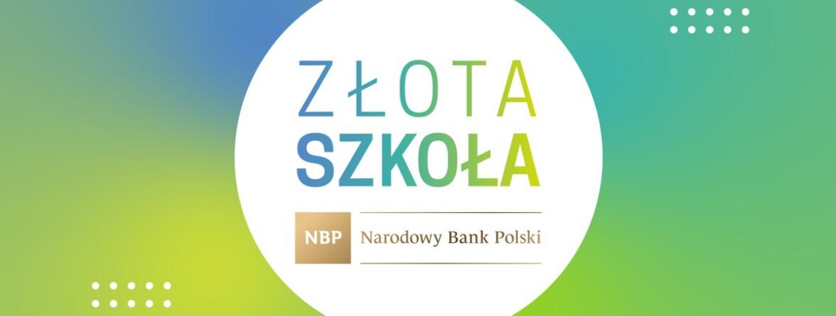 certyfikat Złota Szkoła NBP